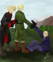 Norwegian resistance by Lime-Inoue