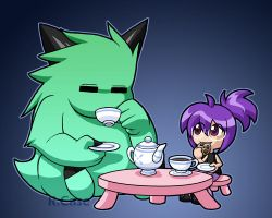 Monster Tea Party by rongs1234