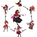 Waifus in Red Hexa by g138