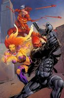 Redhood and the Outlaws by Pask