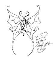 Love Bug Tat Design for Jamie by rachelthegreat