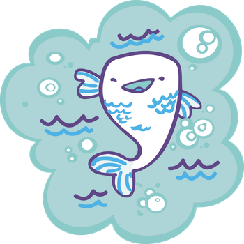 a fish by Kna