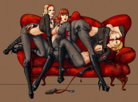 Commission  'Elite party' by Maryetten