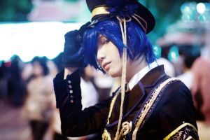 Vocaloid - Arrest Rose -KAITO- by hakimei