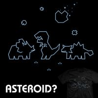 Asteroid? - tee by InfinityWave