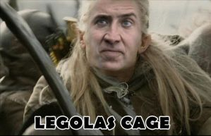 Legolas Cage by thesometimers