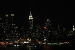 New York City Skyline 3 by migratingevilpoo