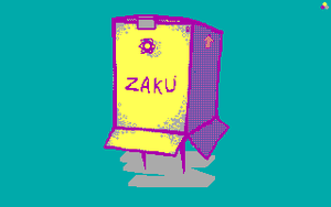 Zaku by Metaru