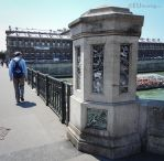 Ornate pillars of Pont d'Arcole by EUtouring