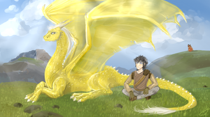 Faraday and Naoghas by GingerAdy