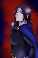 Teen Titans: Raven by DifferentWaysToCry