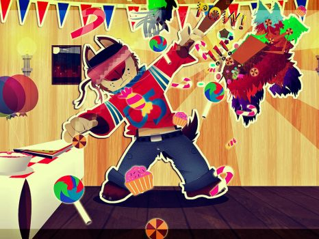 Happy birthday Number-05 by HectorVrl