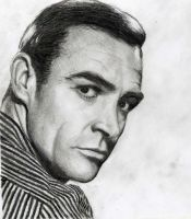 Young Sean Connery by 2rtuga