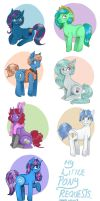 OC REQUESTS (now closed) by superlucky13