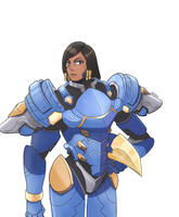 Pharah by ItsWolven
