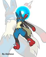 Mega Lucario by Alphaws