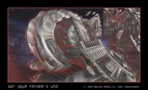 not your father's UFO by fraterchaos