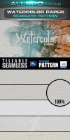 Watercolor Paper Seamless-Tileable Pattern by ravirajcoomar