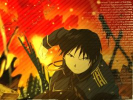 Roy Mustang by PeachXAlchemy