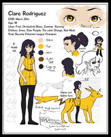 Clare Rodriguez Reference by Jexima