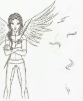 .:I am the Mockingjay:. SKETCH by lolpants98