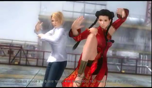 Dead Or Alive 5: Sarah And Pai by TheRumbleRoseNetwork