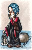 Teddy Lupin - HP SPOILER by RohanElf