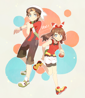 ORAS Outfits by liliyy