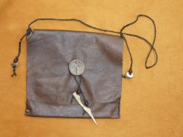 Horned God Pouch by lupagreenwolf