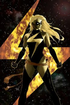 Ms. Marvel cover 11a by DRAWBAK