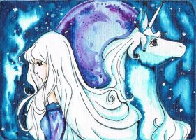 last unicorn by Sute87