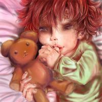 Gaara's Sleepless Night by waywardgal