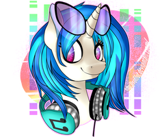 Vinyl Scratch. by sofilut