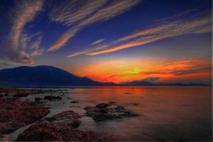 Glorious Greek sunset by Kounelli1
