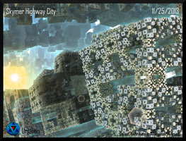 Skymer Highway City by Unialien