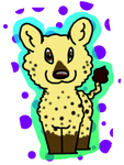 Nahu the hyena 2 by groverismypuppy
