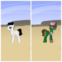 off and on character comparison1 by elfmoon3