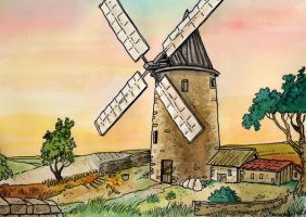 Mill of the Provence by DianaKennedy