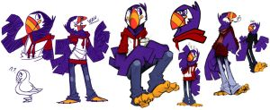 darwin the stylish puffin by grindzone