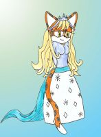 Gift: Ice Princess by Lavender-Star