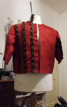 Witcher Eskel Coat progress by nanahara7