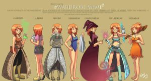 Wardrobe Meme by 2Dea