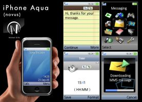 iPhone Aqua Novus by 29MiCHi92