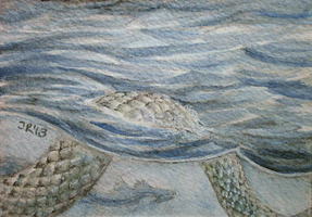 Tides .ACEO by silverybeast