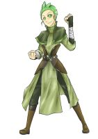 Cilan the Earthbender by Marini4