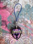 Ravenclaw House Phone Charm by AriesNamarie