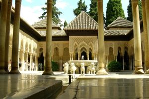 Alhambra Fountain by heminder