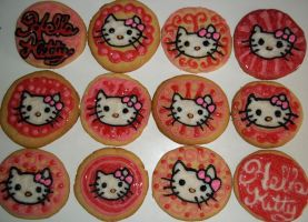 Hello Kitty Cookies by marandaschmidt