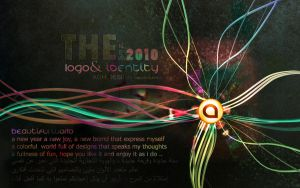 my new logo and identity by ahmed7
