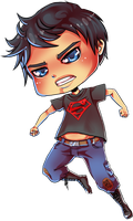 Superboy Chibi by xxmissarichanxx
